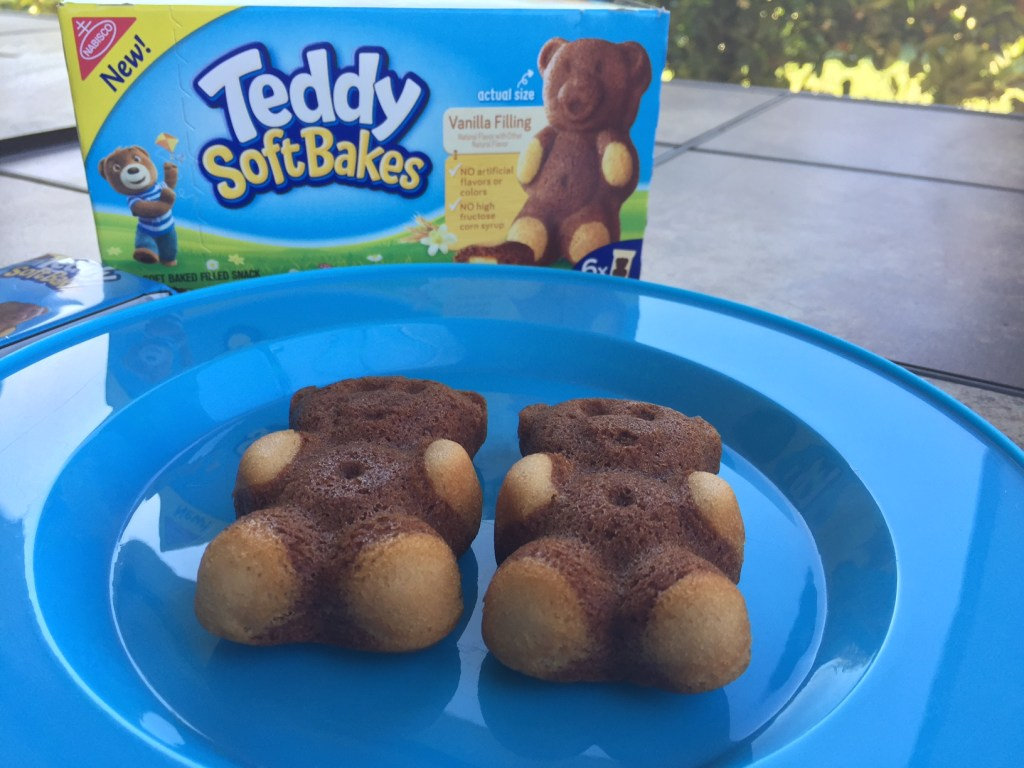 Teddy soft baked filled snacks #2good2bear