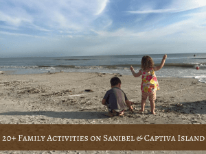 Sanibel and Captiva Island family activities
