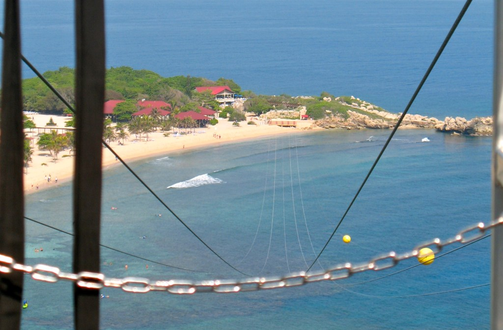 Royal Caribbean Private Island Labadee dragons breath zipline