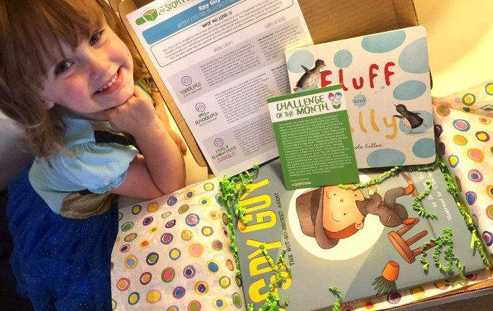 The Story Box delivers new books monthly to the kids | A Cupful of Carters | acupful.com | subscription box | monthly book service | kids box subscription | kids books