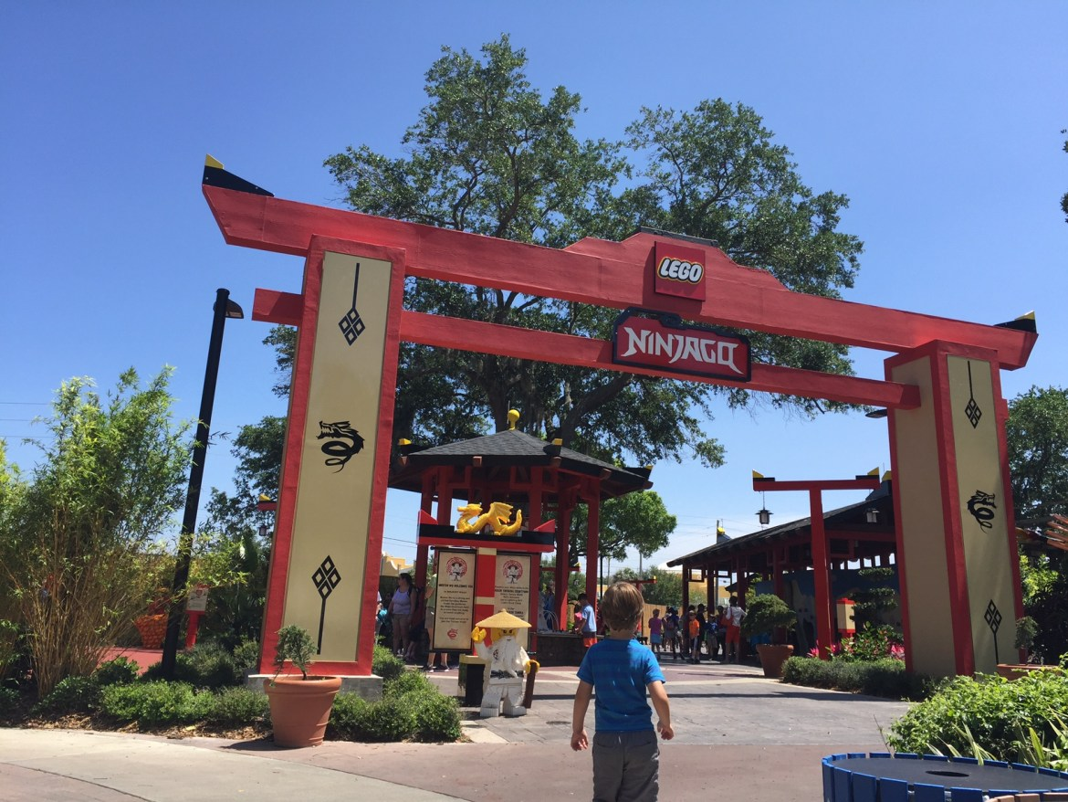 LEGOLAND NinJago The Ride | Legoland Florida | Orlando theme parks | acupful.com | Mandy Carter | Legoland hotel benefits