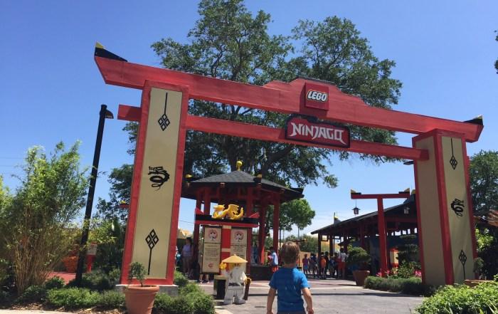 LEGOLAND NinJago The Ride | Legoland Florida | Orlando theme parks | acupful.com | Mandy Carter | Legoland hotel benefits