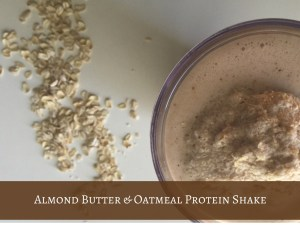 Protein shake recipe | almond butter | healthy recipes for kids | fit food | Acupful | fit travel | Mandy Carter