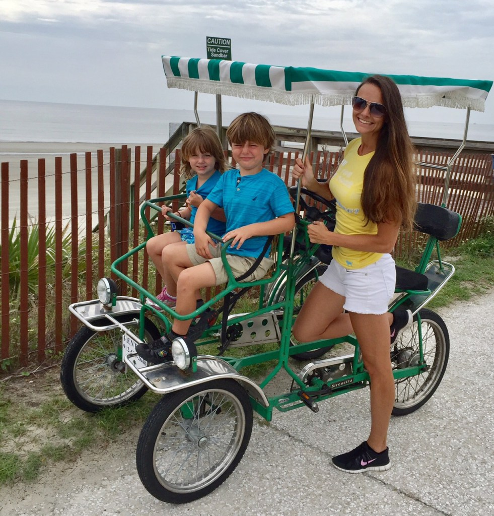 Jekyll Island with Kids | Vacation on the Golden Isles of Georgia | Family Travel | Acupful.com | 10 things to do with kids in Jekyll Island | #JekyllIsland | Mandy Carter travel writer & photographer | Bike rental on Jekyll Island