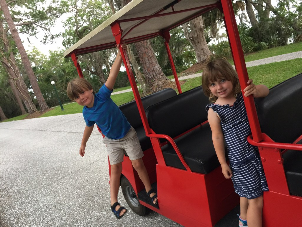 Jekyll Island with Kids | Vacation on the Golden Isles of Georgia | Family Travel | Acupful.com | 10 things to do with kids in Jekyll Island | #JekyllIsland | Mandy Carter travel writer & photographer | Jekyll Island Trolly