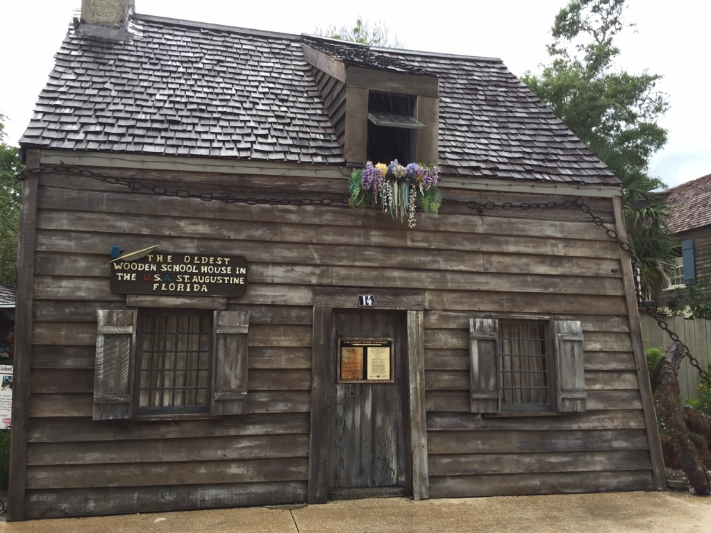 St Augustine Florida | Things to do with kids in St Augustine | Travel with kids | Family Travel Blog | Mandy Carter florida Travel writer | Acupful.com travel blog | Florida Travel | travel florida with kids | #SeeAllofFlorida | #LoveFl | Oldest Wooden School