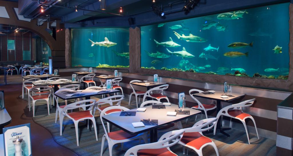 Dinner Alongside Sharks At SeaWorld Park Admission Is