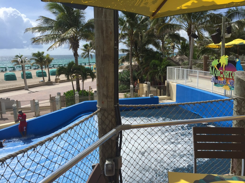 Margaritaville Beach Resort Hollywood Florida | #DestinationParadise | #LoveFl | South Florida Family Friendly Hotels | Best hotels in Florida | Florida Vacation | Best Hollywood Florida hotel Acupful.com | Mandy Carter travel blogger | |Fort Lauderdale Hotel | Margaritaville Hotel Pool | Flow Rider