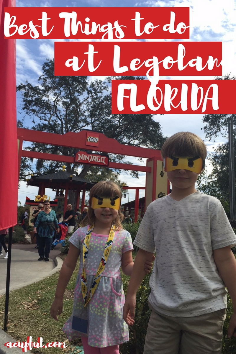 legoland florida tips | best things to do at Legoland | Acupful.com family travel blog | legoland orlando