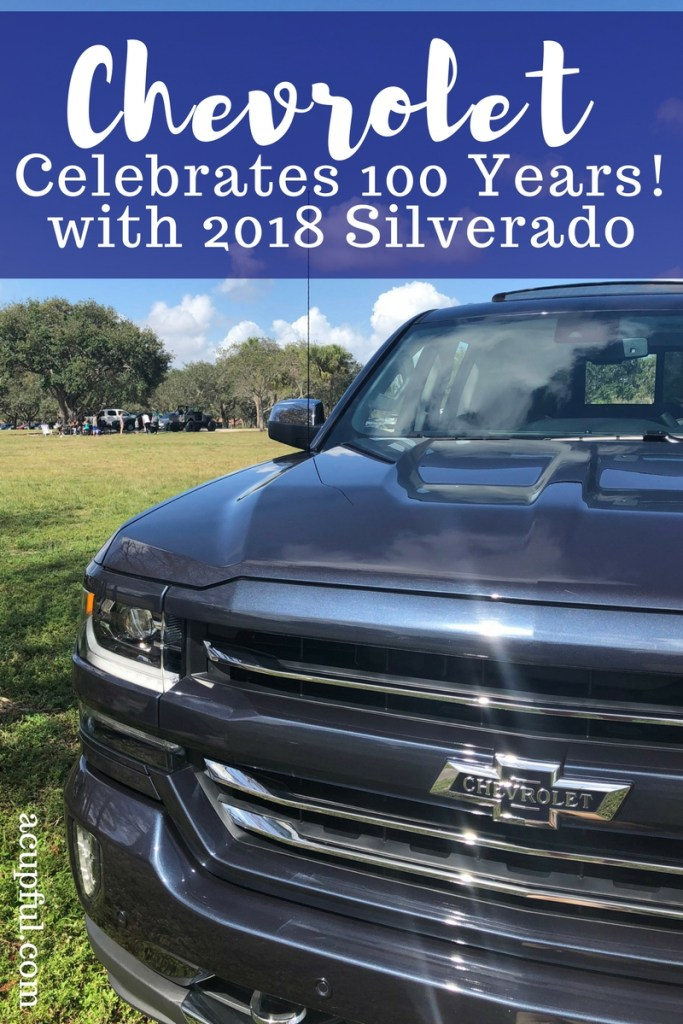 2018 Silverado Centennial Edition | Chevy celebrates 100 years | Trucks for a family | great roadtrip vehicle | acupful.com | chevrolet silverado centennial features