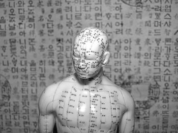 Acupuncture Anatomical Chart