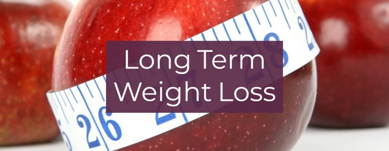 Long Term Weight Loss, No More Diets or Gimmicks