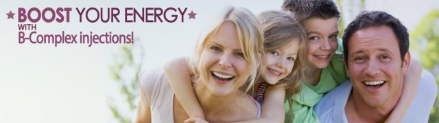 Boost Your Energy With B-Complex Injections!