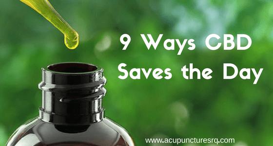 9 Ways CBD Saves the Day