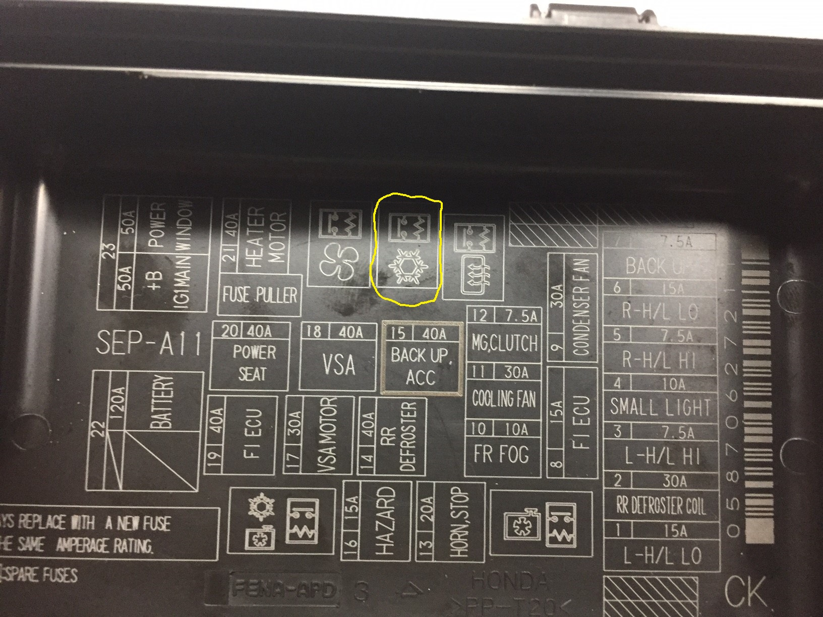 Honda Accord Radio Wiring Diagram Further 2007 Honda Accord Horn Relay