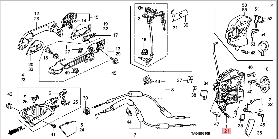 Service manual [Removal Of Passenger Window Switch 2012