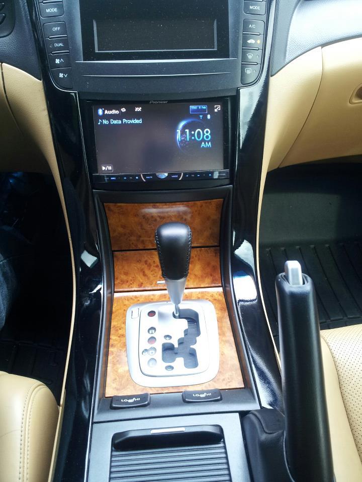 Acura TL Double Din Done The Rite Way AcuraZine Acura
