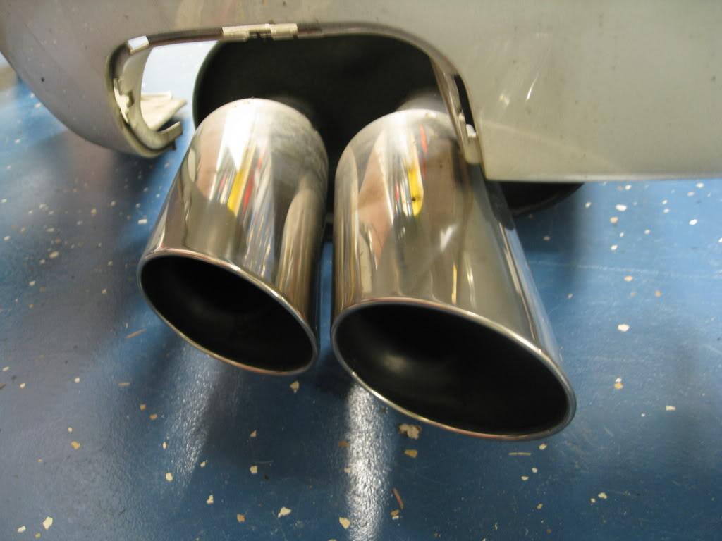 stock tl exhaust to type s exhaust