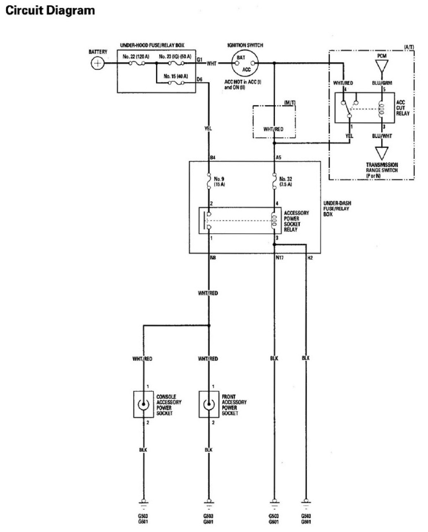hight resolution of 2004 titan fuse box diagram