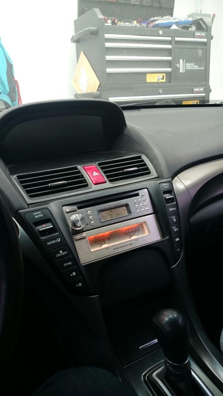 09 Acura Tl Aftermarket Radio 2002