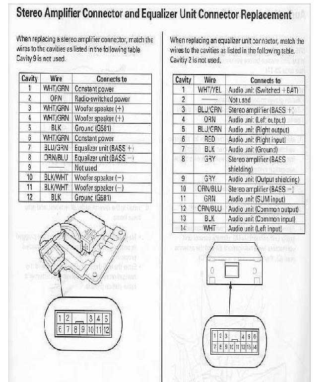7145d1347503059 keeping factory sub when adding aftermarket headunit 99 03 tl 2001 tl stereo amp eq connection?resize\=665%2C766\&ssl\=1 clarion cx609 wire harness diagram wiring diagrams clarion cx609 wiring diagram at honlapkeszites.co