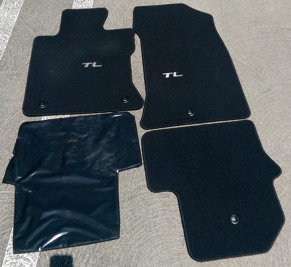 SOLD 20092014 4G Acura TL AWD carpet floormats