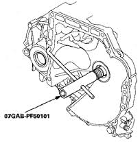 SOLD Honda 07GABPF50101 Transmission Mainshaft Holder