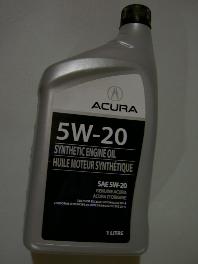 World Wide oil recommendations for 37L engine  AcuraZine