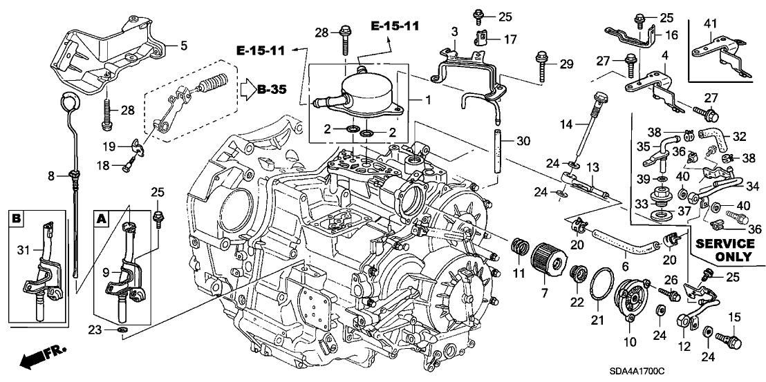 v6 engine diagram transmission