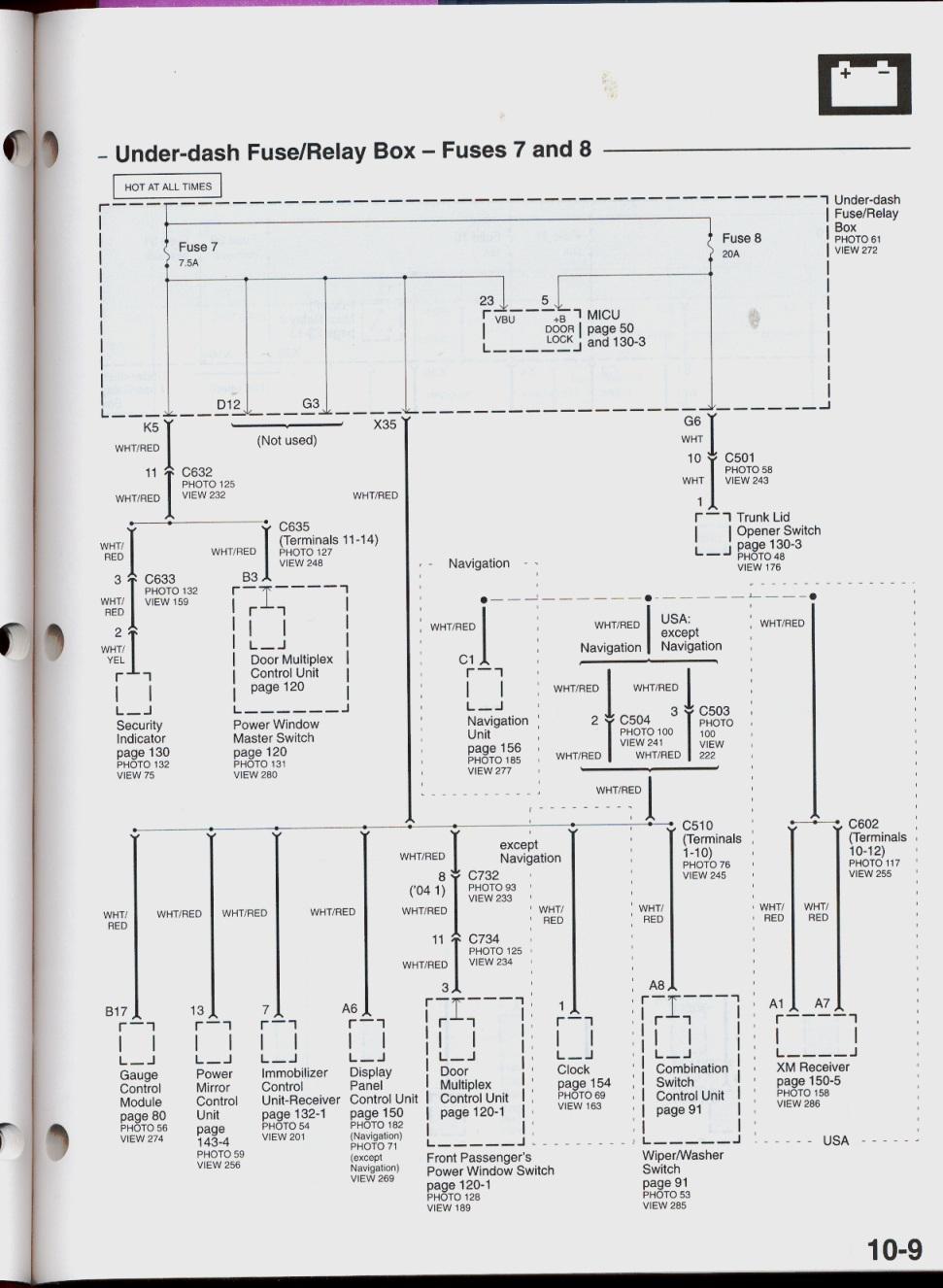 acura 2008 wiring diagram