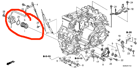 C-036: DIY Transmission Filter Replacement With Pics