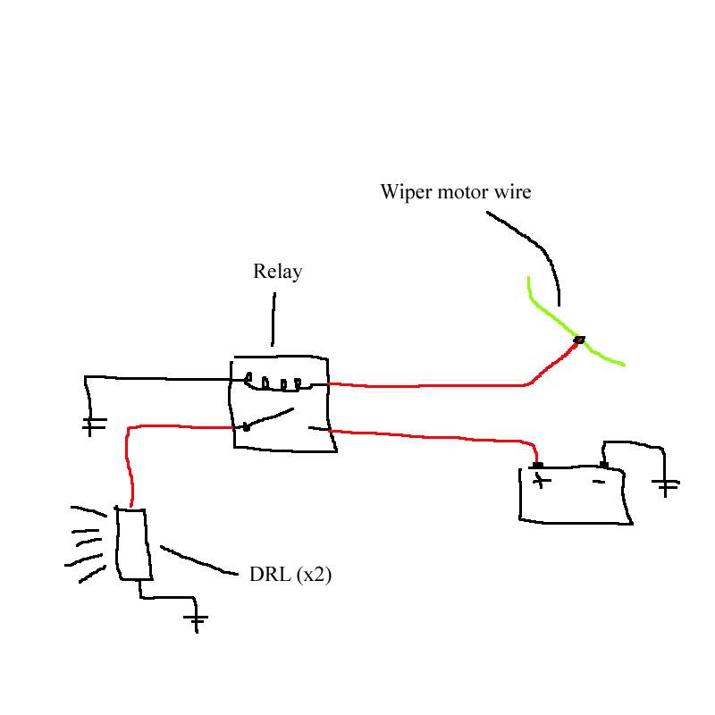 hella relay wiring diagram 2 2003 grand caravan installing led strip lights under headlights??? - page acurazine acura enthusiast community
