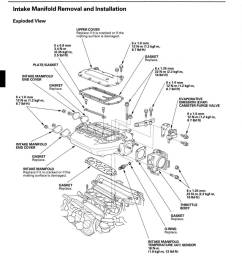 rsx intake manifold engine diagram [ 889 x 937 Pixel ]