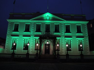 Mansion House of Dublin, the Lord Mayor's residence