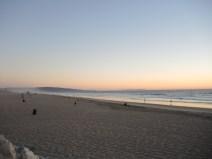 At El Porto Beach looking south, October 30th.
