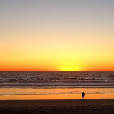 Another beautiful sunset in Manhattan Beach