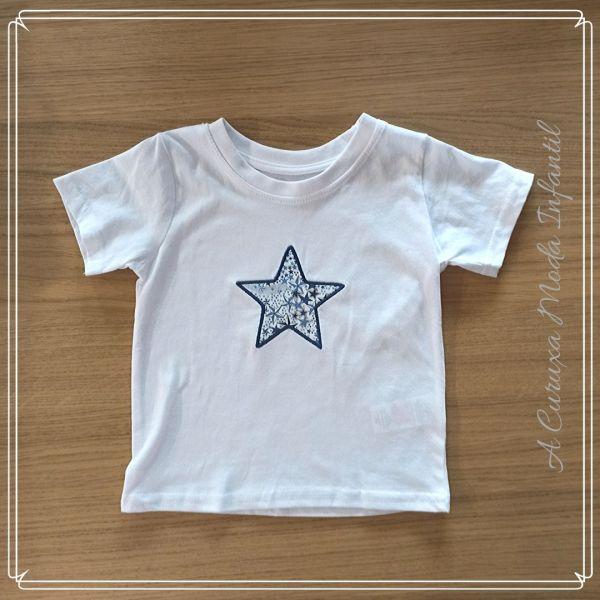 "Camiseta liberty ""Estrellas"""