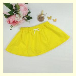 Falda de niña plumeti