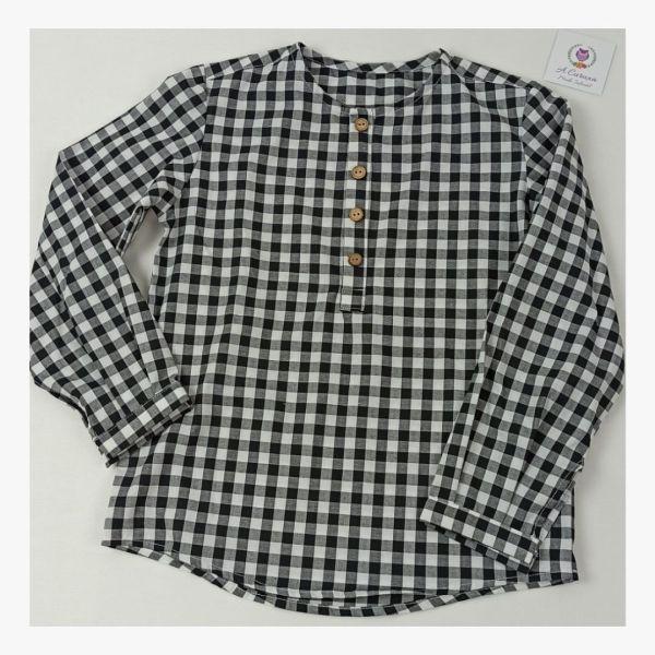 Camisa de niño Lareira