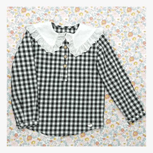 """Camisa de niña Vichy """"Lareira"""""""