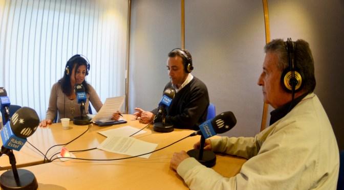 Joan Font Gargallo nuevo presidente de HDSES entrevistado en el programa A TOTA COSTA de Radio Estel