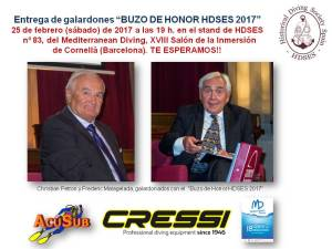 BUZO DE HONOR HDSES 2017