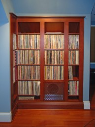Specialty LP album storage