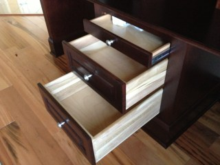 Desk drawers
