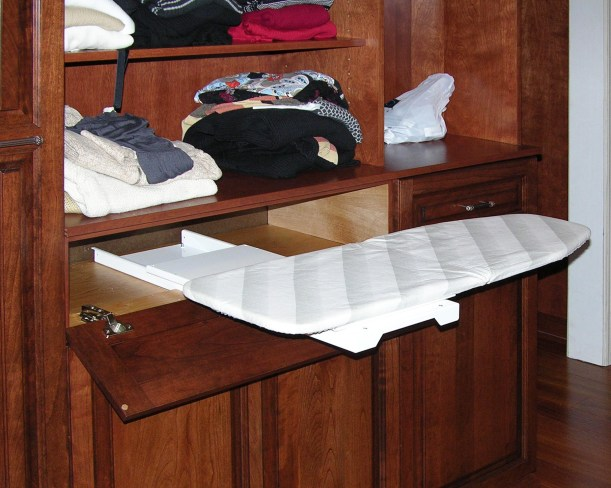 200 ironing board in drawer