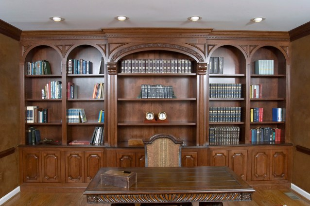 Cherry bookcases