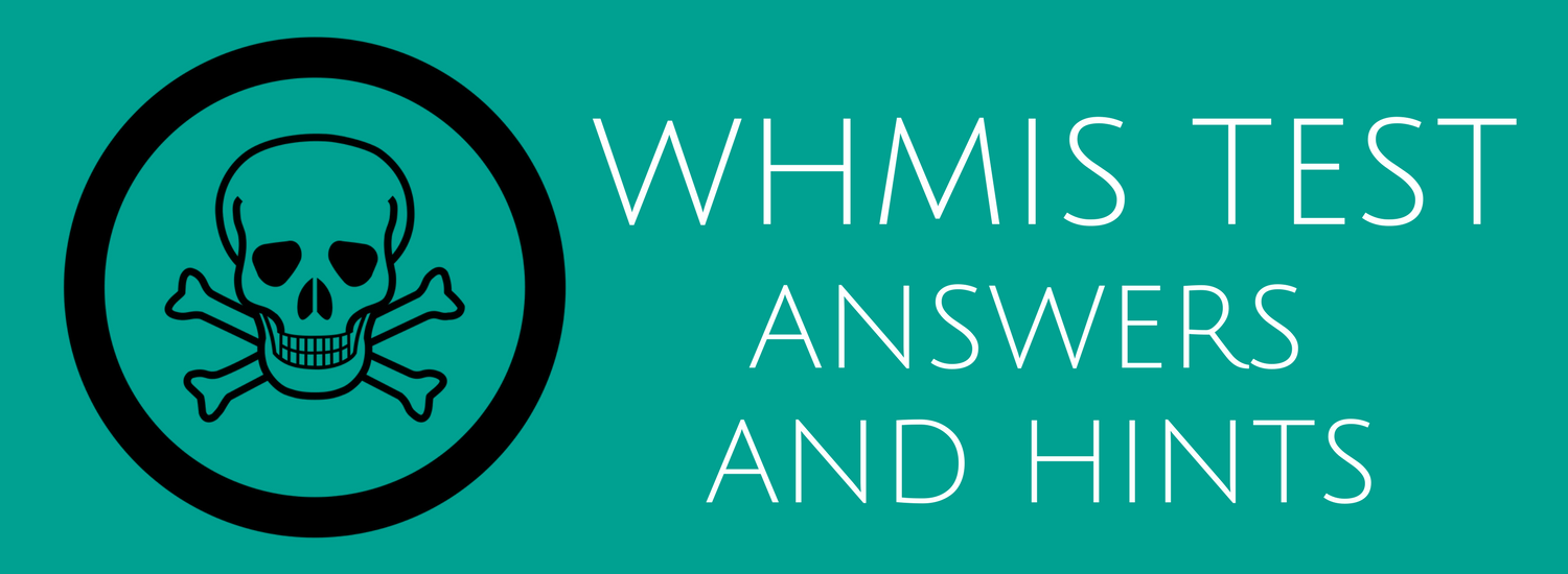 hight resolution of WHMIS Test Answers and Hints Questions - ACUTE