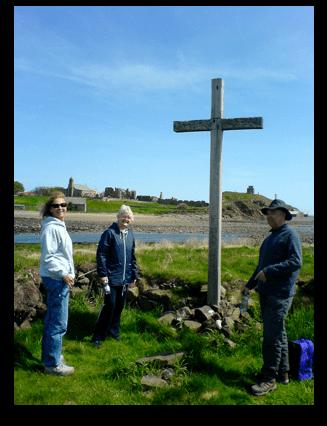 Lindisfarne Island from Cuthbert's 'Cuddy' Island