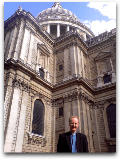 Outside St. Pauls Catheral, London