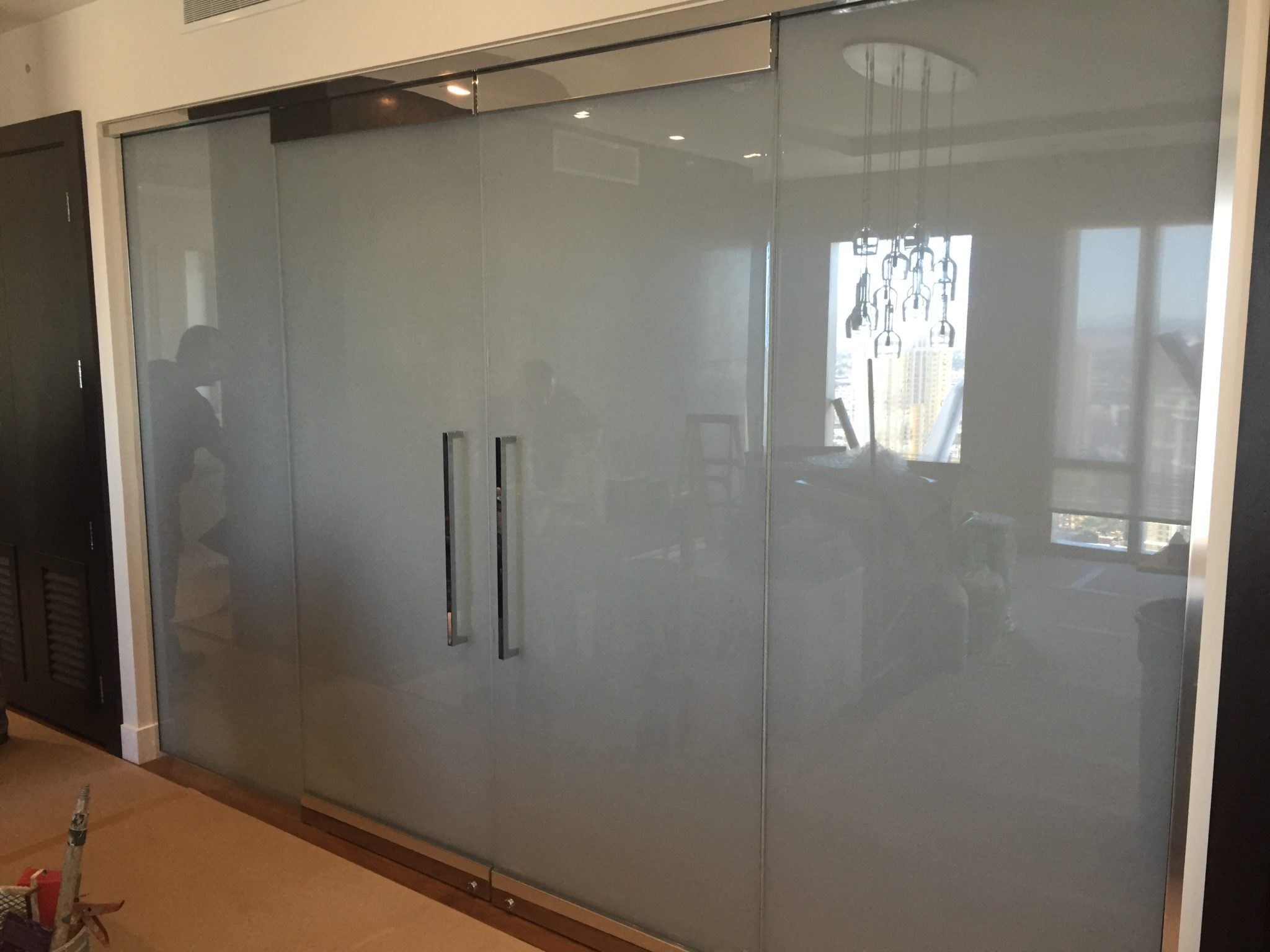 Custom Tinted Glass Is Available Through Special Order